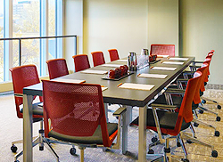 We are a perfect fit for training events and used frequently as breakout space for the Senate Room.