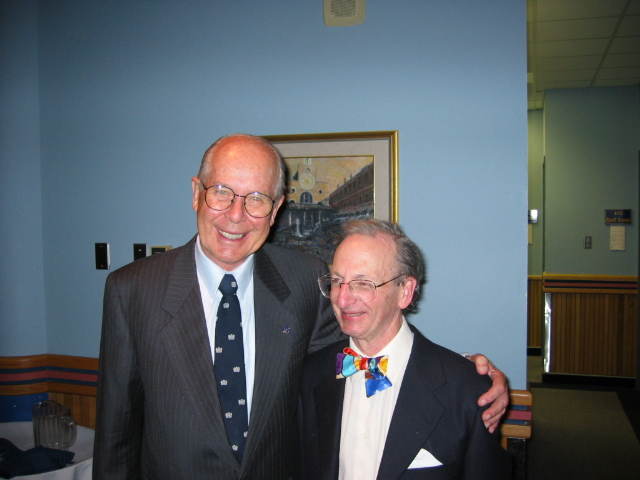 Dr Peter Cruse and Dr Bill Whitelaw