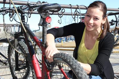 Jacqueline Williamson is one of five University of Calgary students